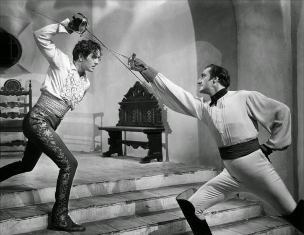 """Zdjęcie z filmu """"Znak Zorro"""" (1940)"""