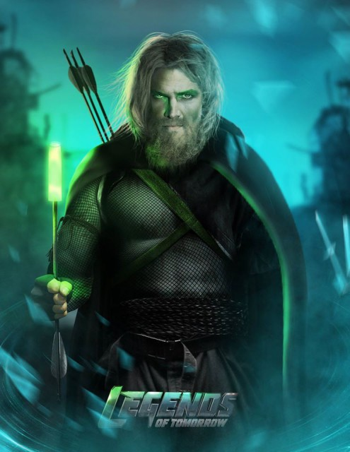Stephen Amell, Legends of Tomorrow