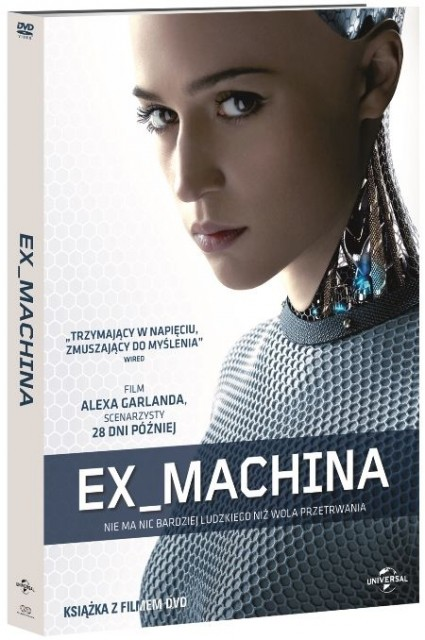 Ex Machina - okładka DVD