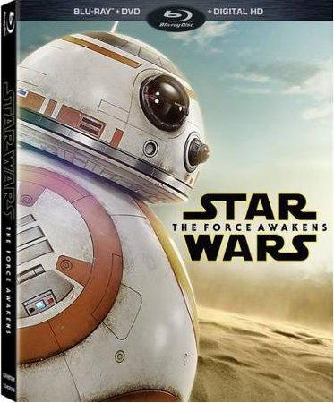 Gwiezdne Wojny: Przebudzenie Mocy - okładka DVD i Blu-ray