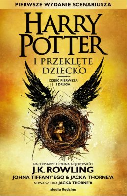 Harry Potter i Przeklęte Dziecko - okładka