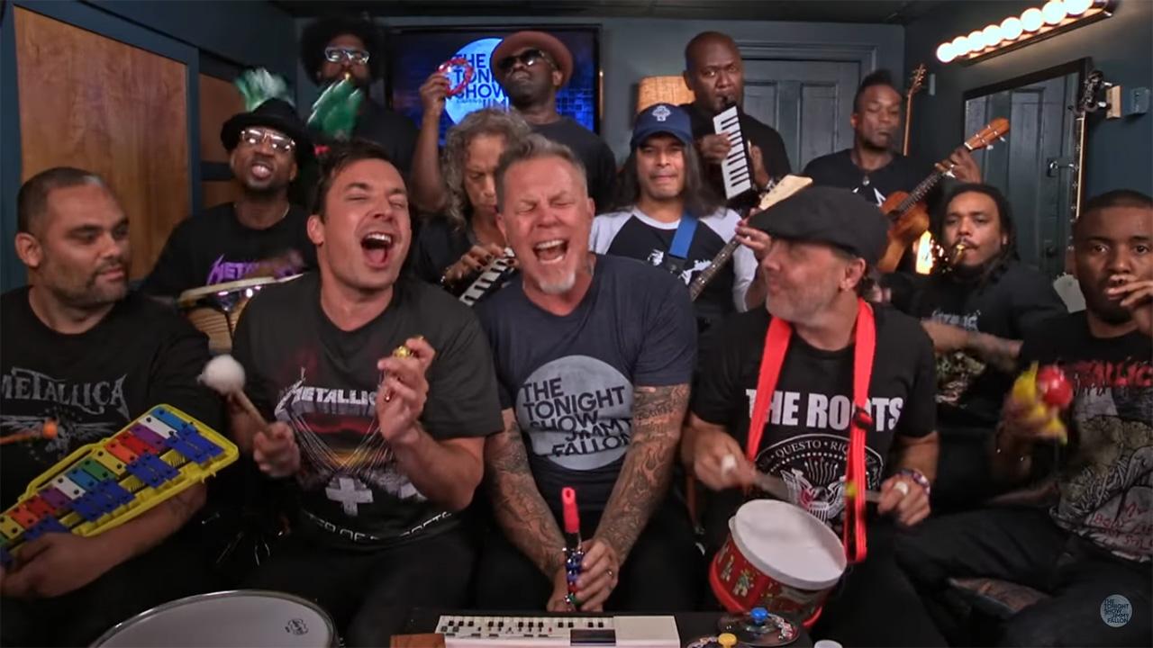 Jimmy Fallon Metallica - zdjęcie