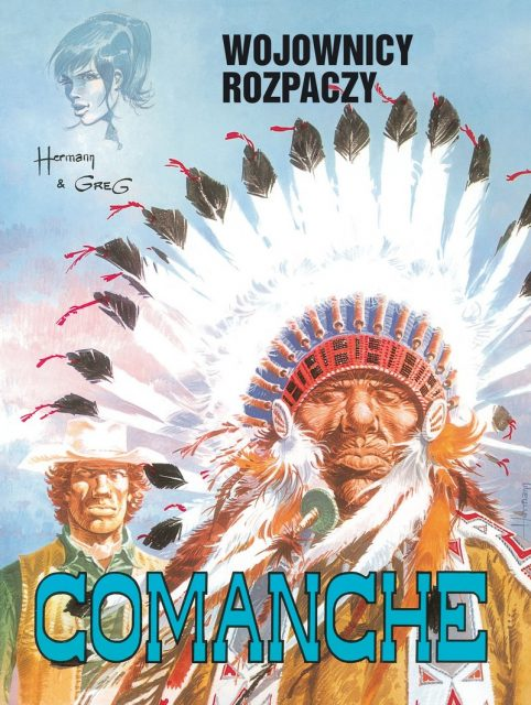 Comanche #02: Wojownicy rozpaczy - okładka