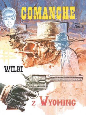 Comanche #03: Wilki w Wyoming - okładka