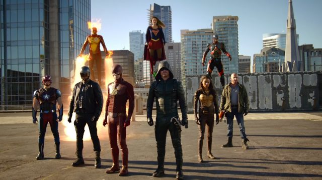 crossover The CW, Legends of Tomorrow
