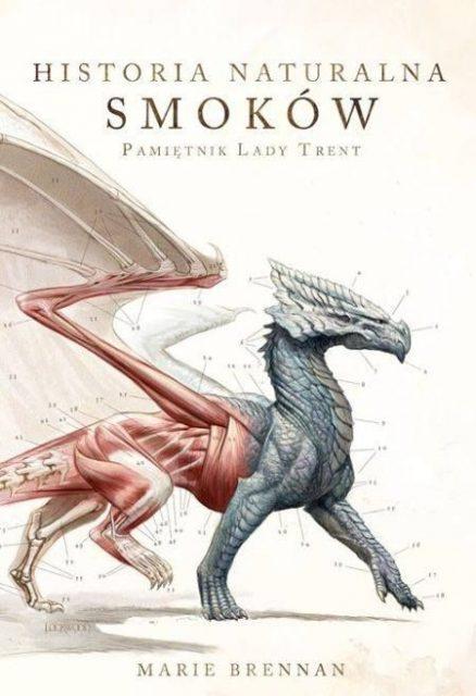 Historia naturalna smoków - okładka