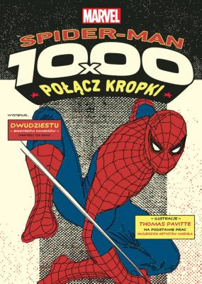 Spider-Man. Połącz kropki - okładka
