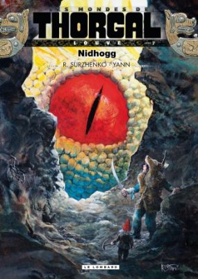 Thorgal. Louve Nidhogg - okładka oryginalna