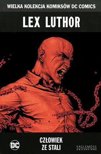Lex Luthor. Człowiek ze stali - okładka