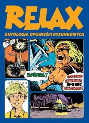 Relax – Antologia opowieści rysunkowych, tom 2 - okładka