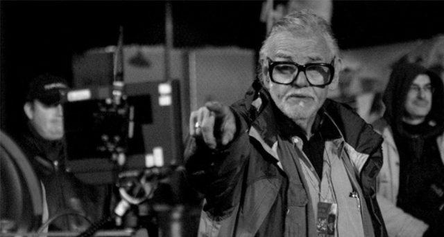 George Romero na planie filmu