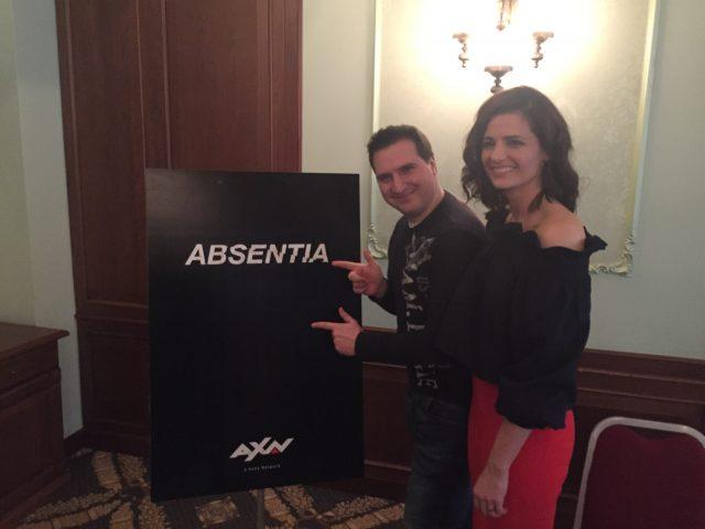 Zdjęcie z planu serialu Absentia