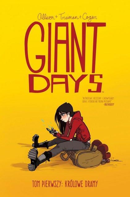 Giant Days #1. Królowe Dramy - okładka