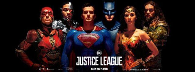 Liga Sprawiedliwości - plakat