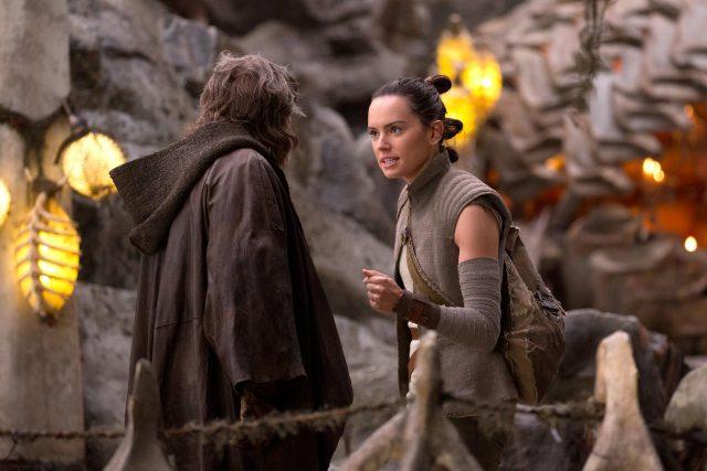 Luke i Rey - Gwiezdne Wojny: ostatni Jedi