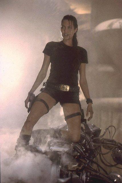 Lara Croft: Tomb Raider - zdjęcie z planu serii filmów akcji