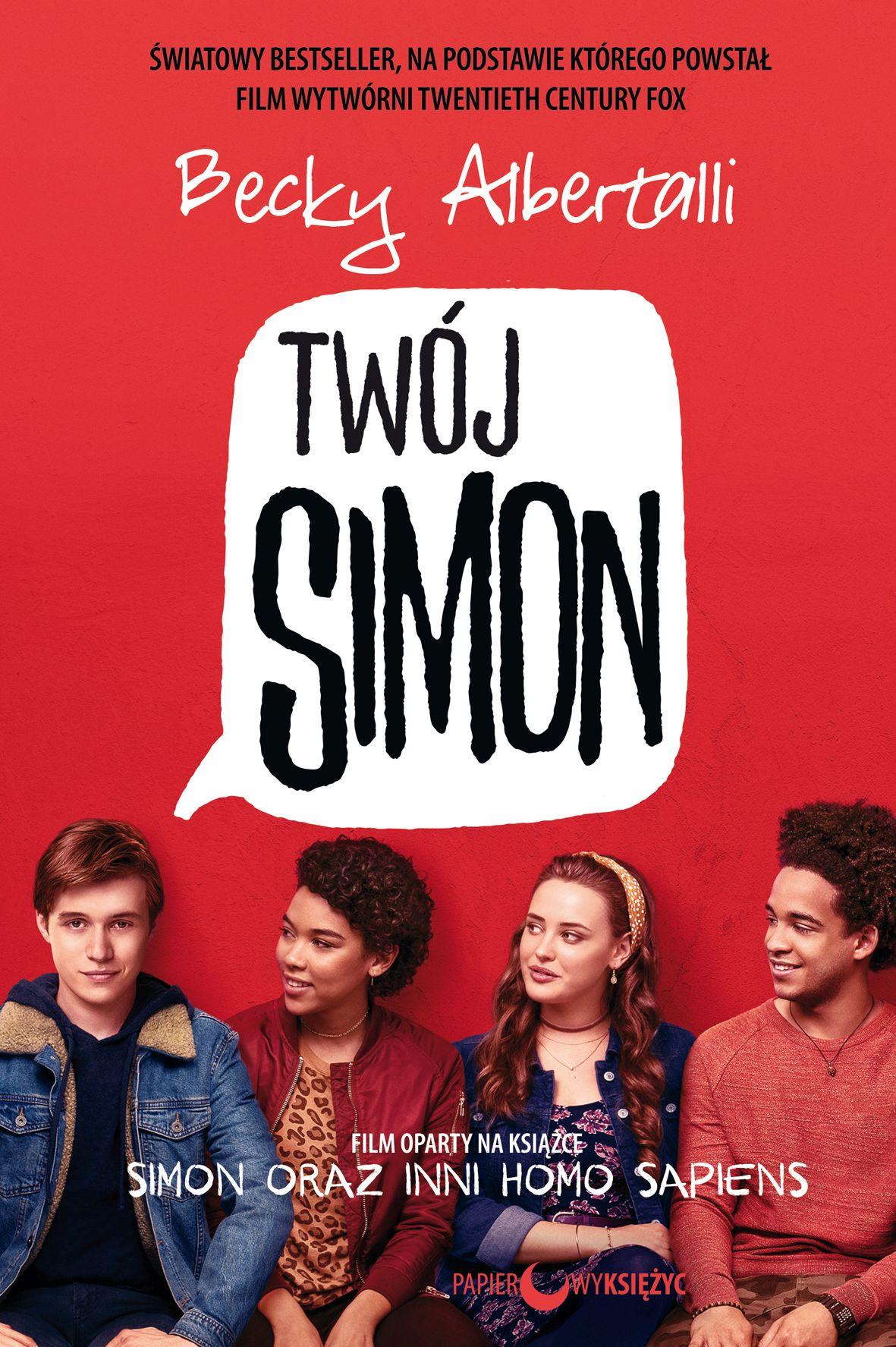 Twój Simon - okładka