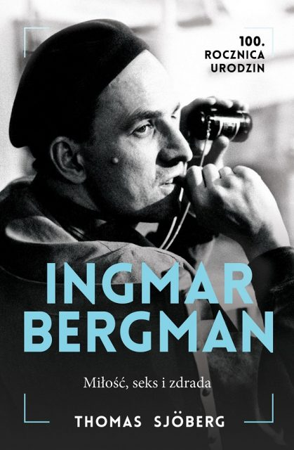 Ingmar Bergman biografia - okładka