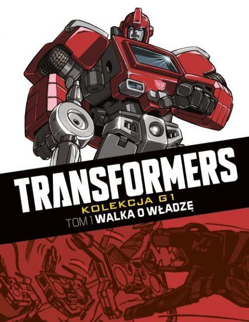 Transformers #01. Walka o władzę - okładka