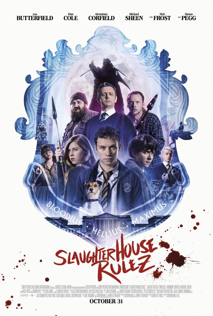 Slaughterhouse Rulez - plakat